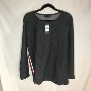 NWT Tommy Hilfiger Men's Long sleeve Top Size LG